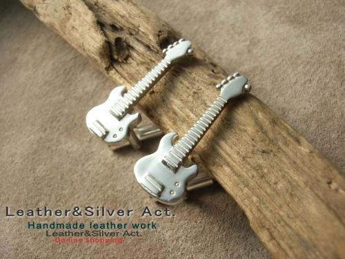 楽器のカフス オーダーメイド シルバー