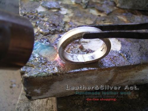 オーダーリング シルバー 製作7