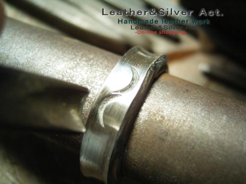 オーダーリング シルバー 製作4
