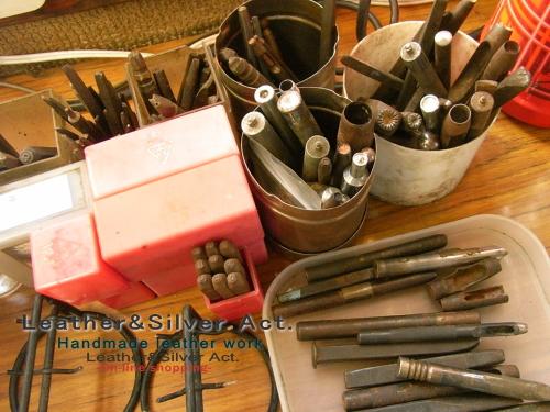 彫金 タガネ 工具 製作