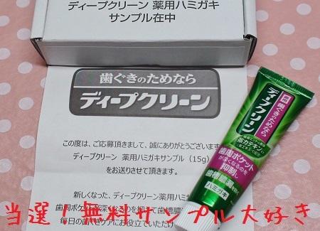 ディープクリーン薬用ハミガキ粉