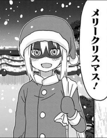 クリスマスネタ・目がコワイ