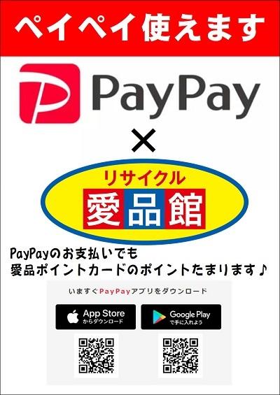 PayPay 愛品館 リサイクル 千葉市