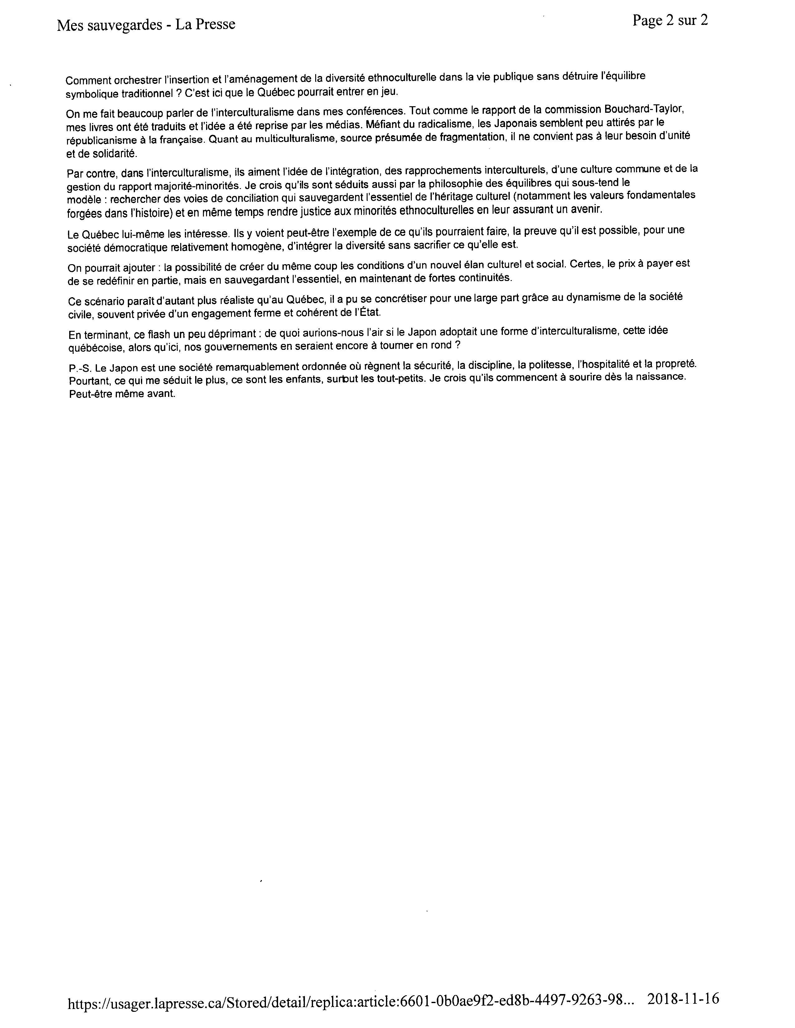 La Presse-16-11-18- texteImage_ページ_2