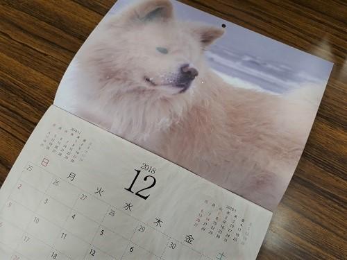 わさおカレンダー2019 2018年12月のページ