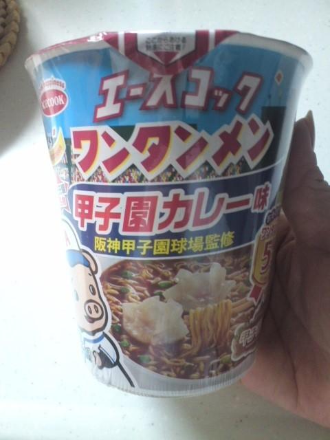 エースコックワンタンメン 甲子園カレー味
