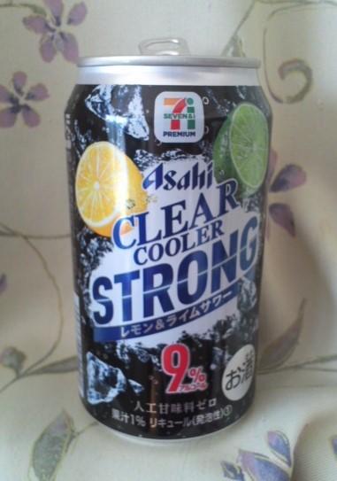 アサヒ クリアクーラーストロング レモン&ライムサワー