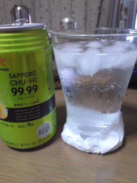 SAPPORO CHU-HI 99.99(フォーナイン) クリアグレープフルーツ