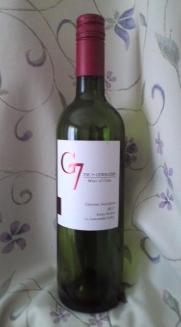 G7 CABERNET SAUVIGNON(ジーセブン カベルネ・ソーヴィニヨン)