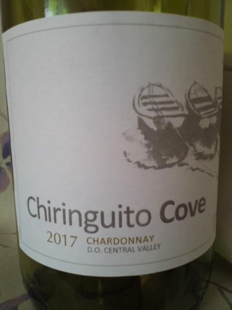 Chiringuito Cove CHARDONNAY(チリンギート・コヴェ シャルドネ)2017