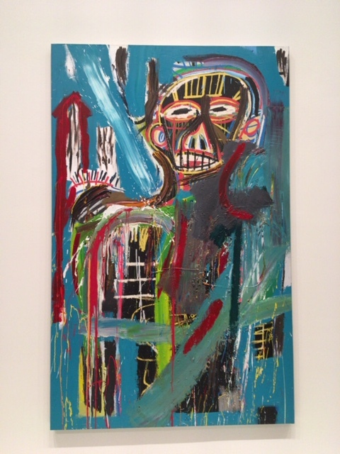 Fondation Louis Vuitton の Basquiat展