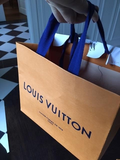 LOUIS VUITTON のアジザから届いた可愛い可愛い贈りもの