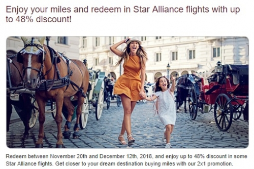 アビアンカ航空 LifeMilesでマイル購入で125%ボーナスマイル2
