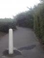 散歩道の入り口