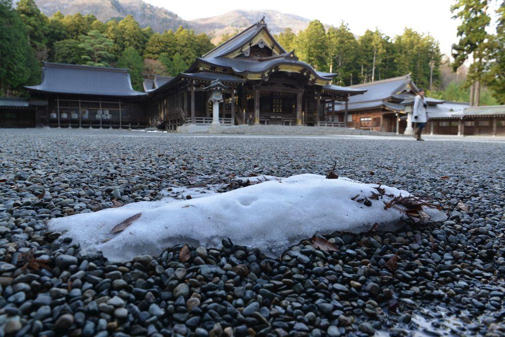 師走の神社-2