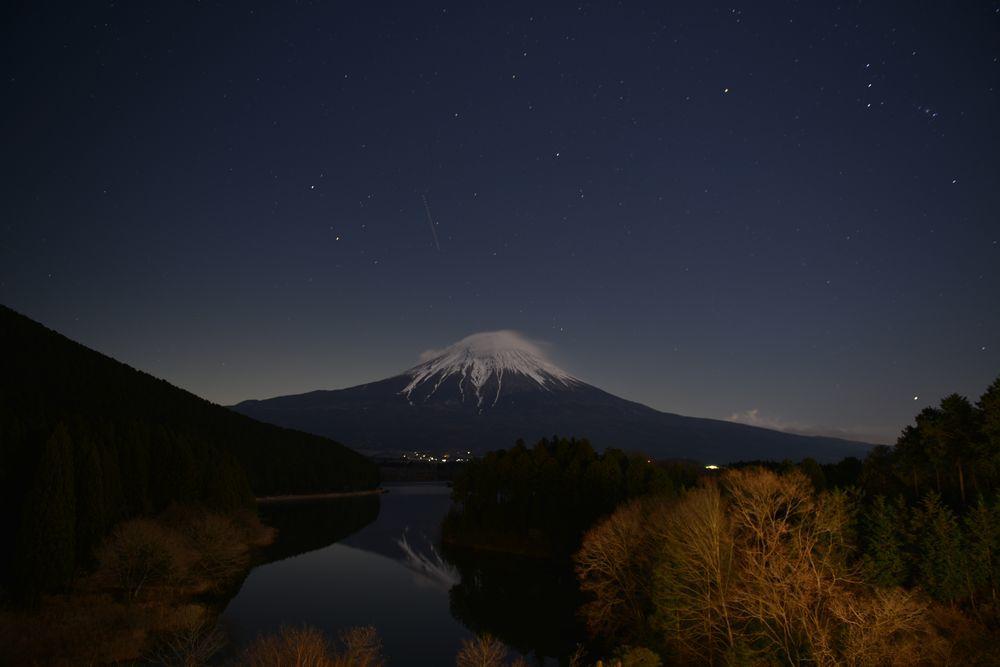 田貫湖の夜-1