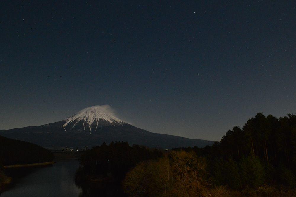 田貫湖の夜-3