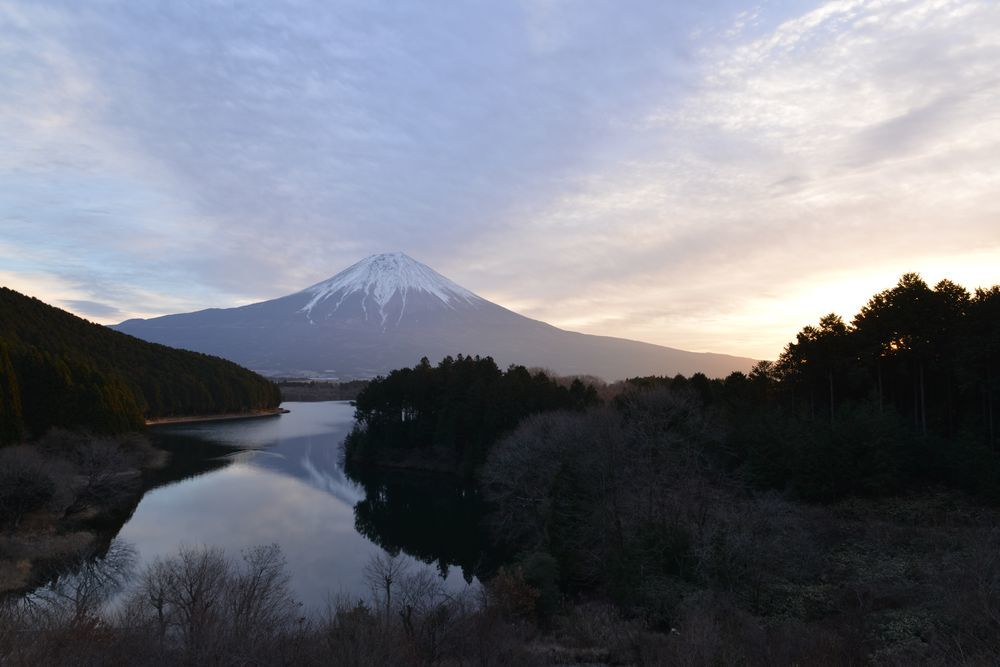 田貫湖の夜-6