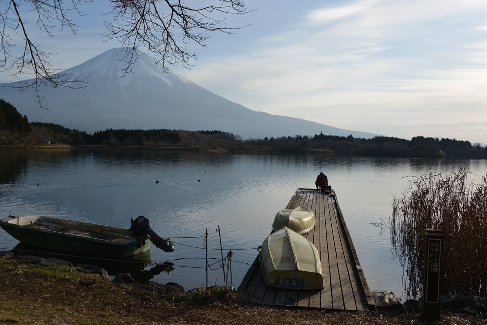 朝の田貫湖-3