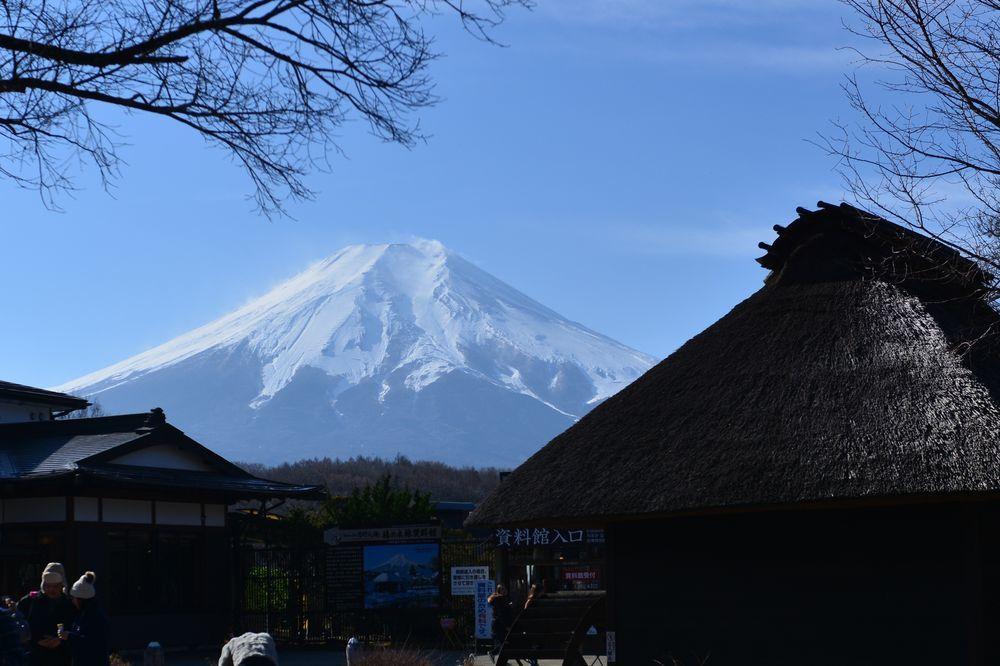 忍野から富士-1