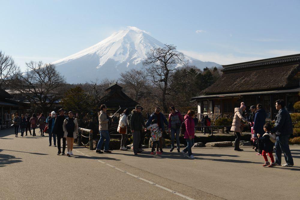 忍野から富士-3