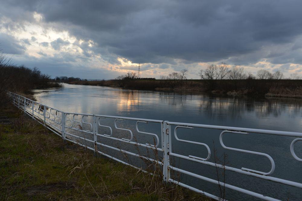 冬の河-7