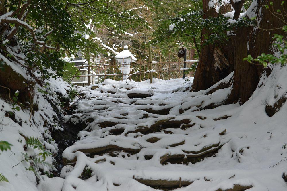 雪の国上寺-5