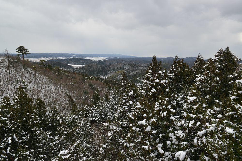 雪の吊り橋-7