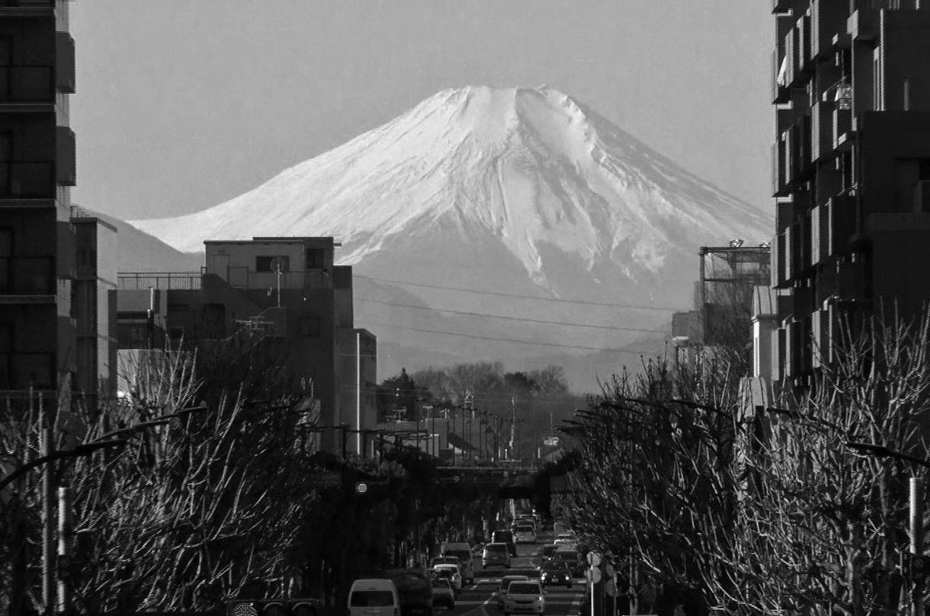 Mt.Fuji seen from Higashikurume