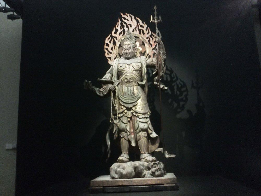 F1000568東京国立博物館12月22日広目天