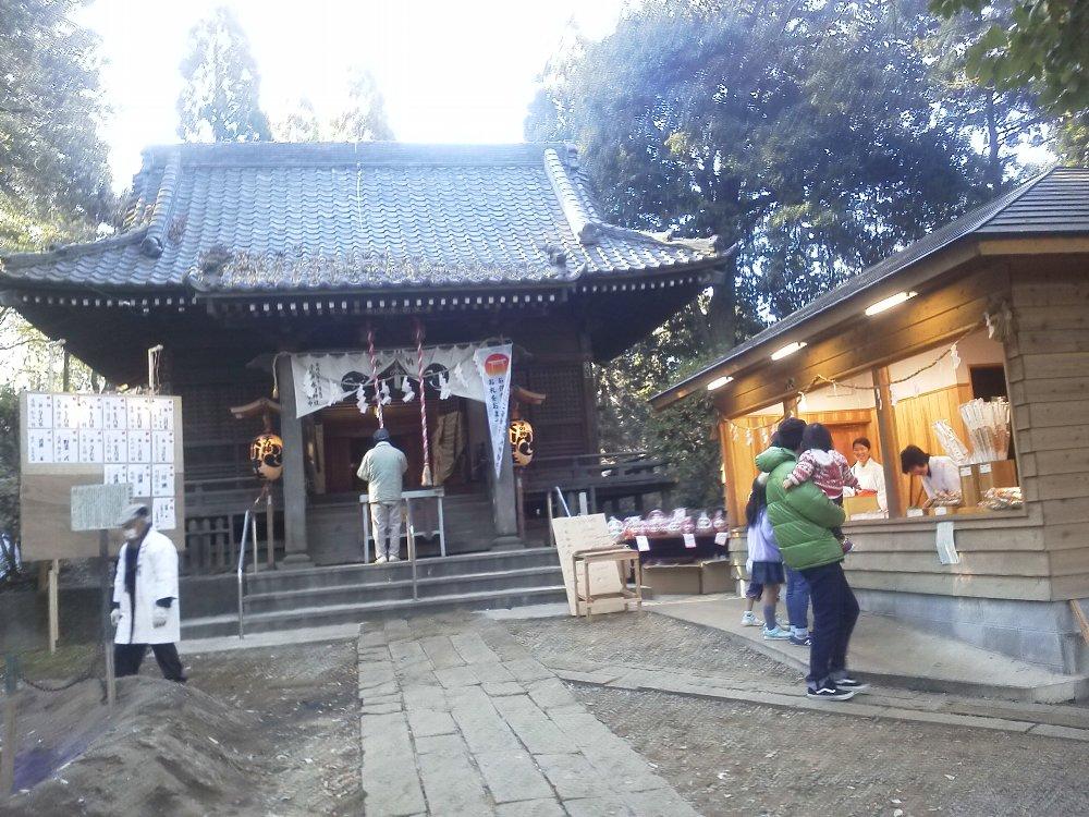 F1000002初詣1月1日膝折子の神氷川神社