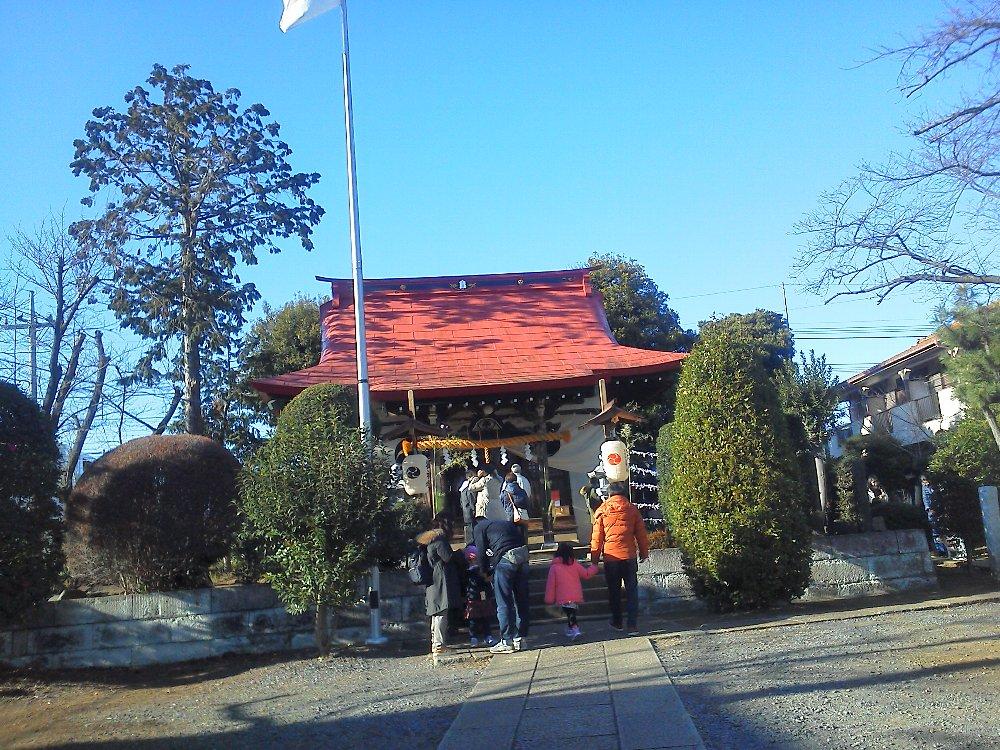 F1000012初詣1月1日浜崎氷川神社