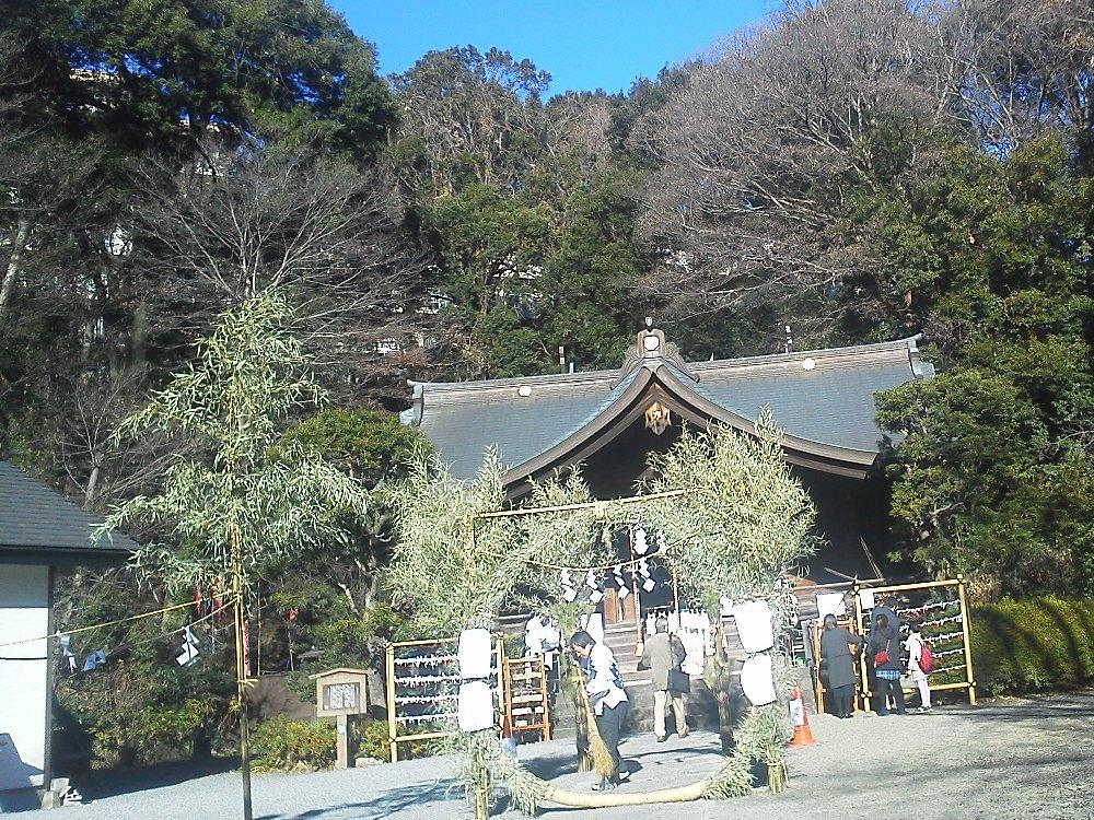 F1000015初詣1月3日白子熊野神社