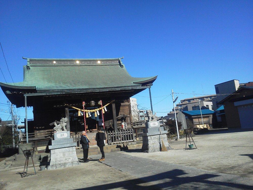 F1000019初詣1月3日成増菅原神社