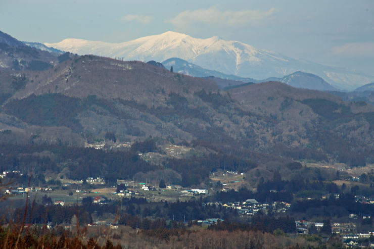 福島市から見る蔵王