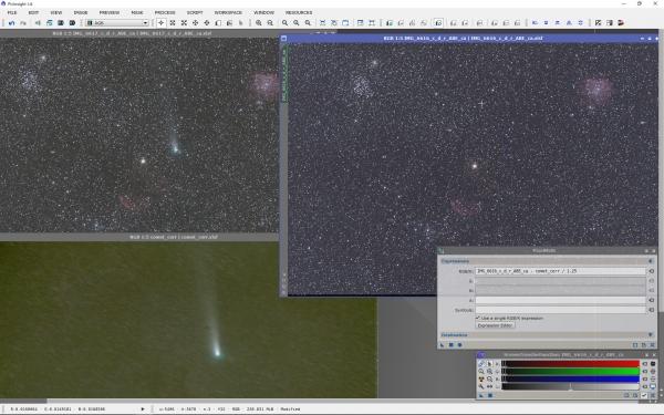 06_彗星減算作業