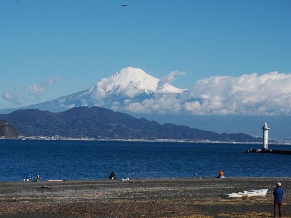 冬の富士_20181218