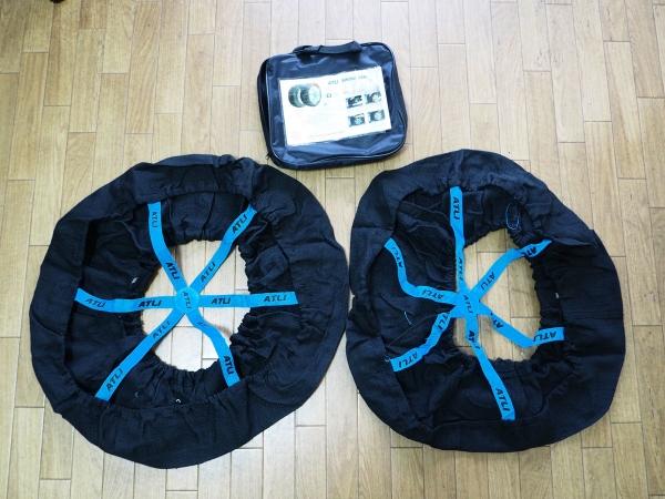 布製タイヤ-滑り止めカバー-2