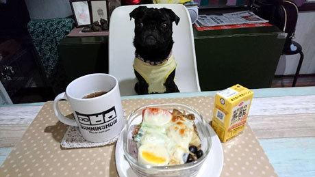 朝食ですか