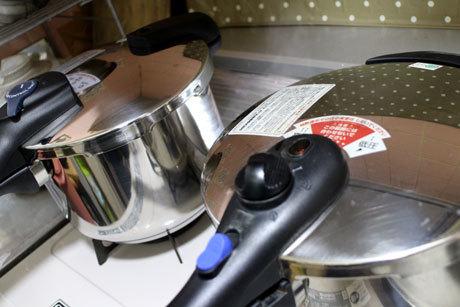 新しい鍋と古い鍋