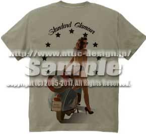 T-shirt Standard Glamour6