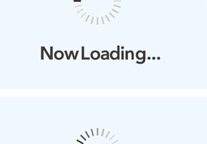 アプリ・動画素材 3 Now Loading