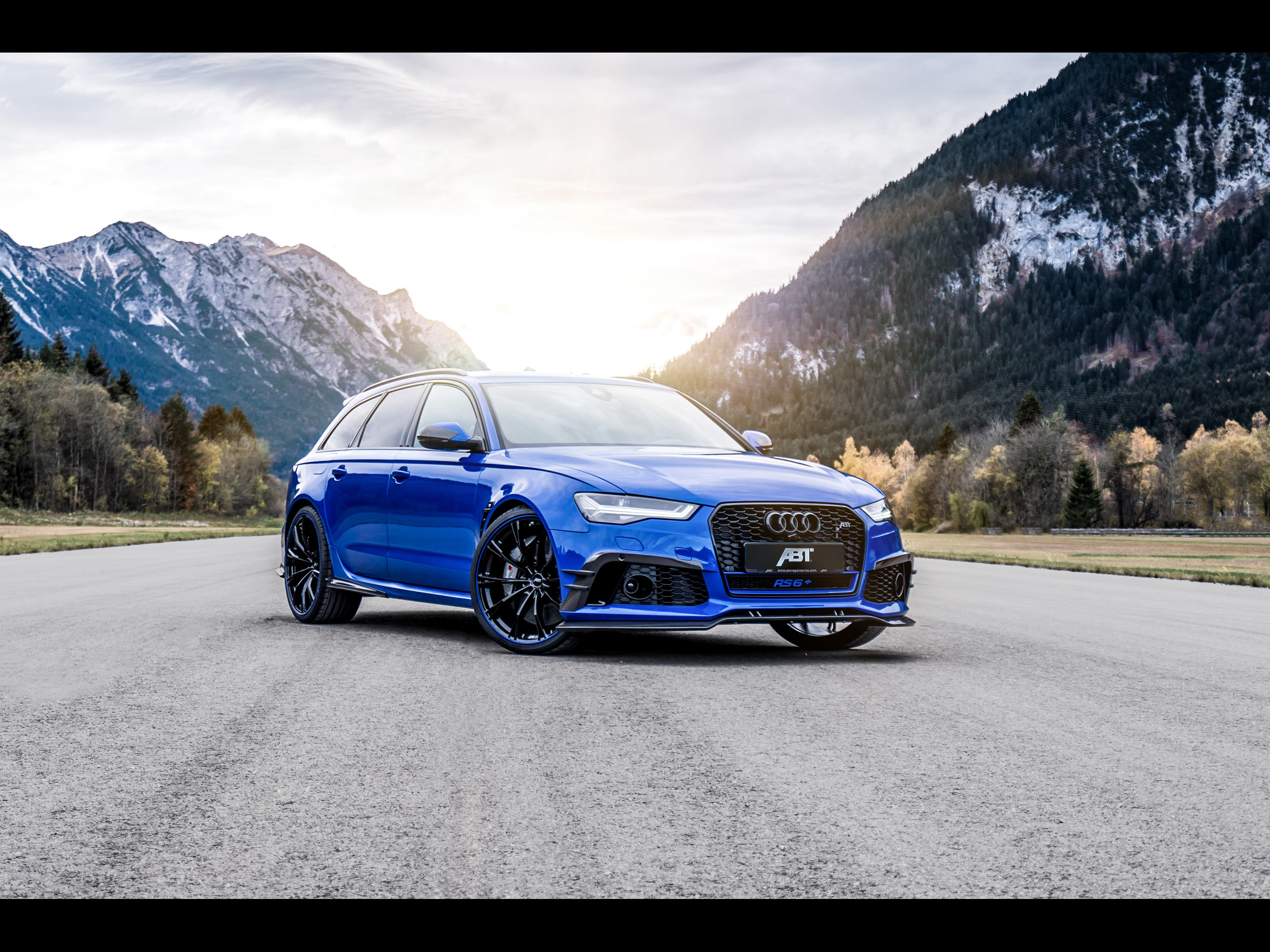 ABT Sportsline Audi RS6+ quot;Nogaro Editionquot; [2018]  アウディに嵌まる  壁紙画像ブログ