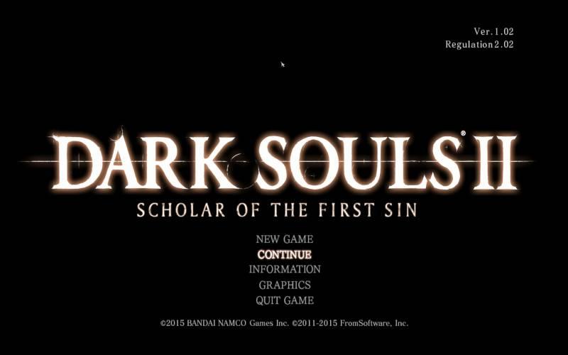Borderless Gaming 8.4 を使って DX11 版 Dark Souls II Scholar of the First Sin をアスペクト比を維持したまま、WXUGA モニター(1920x1200)でボーダーレスフルスクリーン(仮想フルスクリーン)にする方法、DARK SOULS II Scholar of the First Sin グラフィックスオプション ウィンドウ 1920x1080 で Borderless Gaming を有効にした時のアスペクト比が崩れたゲーム画面