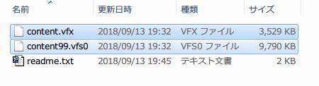 ダウンロードした Metro.2033.Redux.Japanese.mod.FHD.only.zip を展開・解凍して、content.vfx と content99.vfs0 を Metro 2033 Redux のインストールフォルダに置く