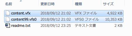 ダウンロードした Metro.LL.Redux.Japanese.mod.FHD.only.zip を展開・解凍して、content.vfx と content99.vfs0 を Metro Last Light Redux のインストールフォルダに置く
