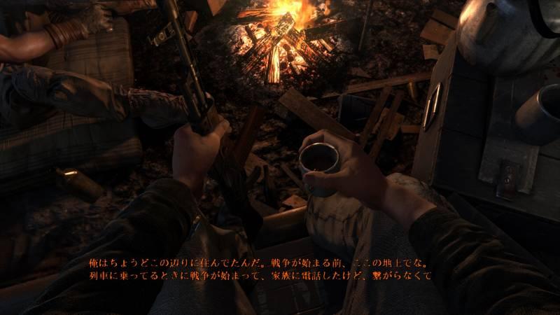 Metro Last Light Redux 日本語化、スパルタ
