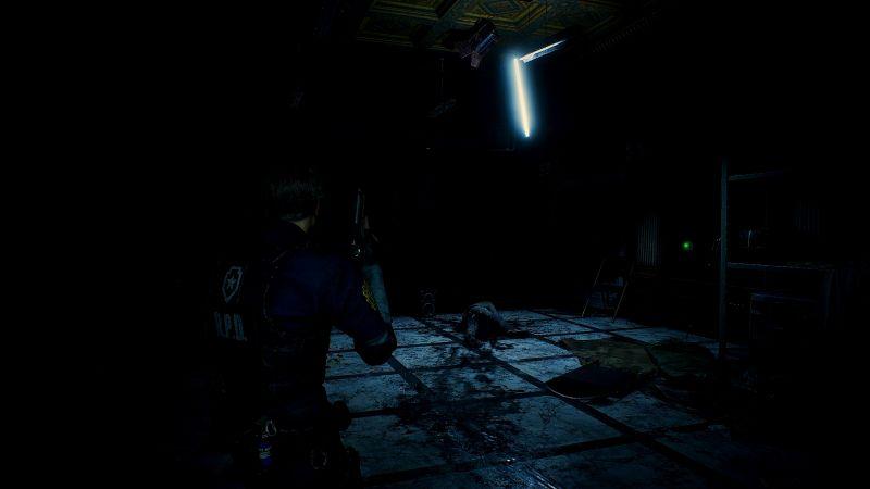Steam 版 バイオハザード RE:2 ReShade インストール設定、ReShade プリセット Resident Evil 2 Remake Terror、色空間 Rec.709、最高輝度調整・最低輝度調整・明るさ調整 変更済み