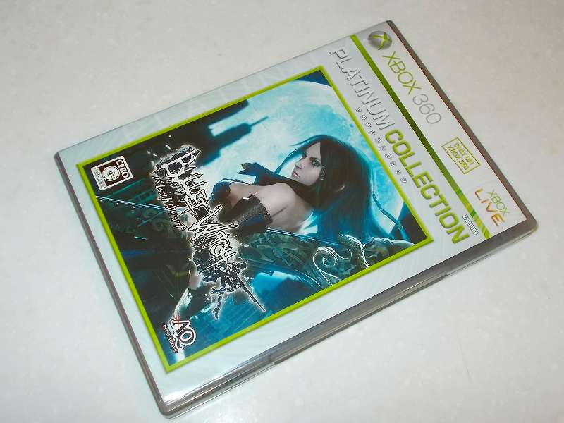 Xbox360 版 Bullet Witch Platinum Collection パッケージ