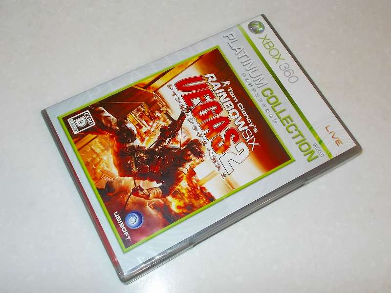 Xbox360 版 Tom Clancy's Rainbow Six Vegas 2 Platinum Collection パッケージ